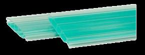 Persianas de policarbonato esmeralda
